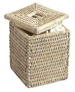 ROTIN ET OSIER - tilda - Cotton Wool Jar