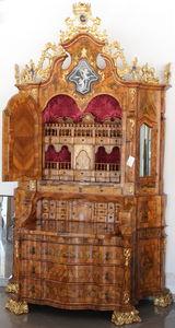 PASQUINI MARINO - veneziano stile 700 - Bonnetiere Cupboard