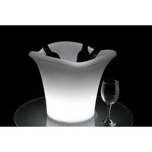 DECO PRIVE - seau à champagne lumineux à led - Champagne Bucket