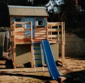 Kiddies Country Cottages -  - Outdoor Play Set