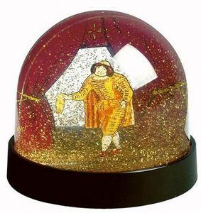 Boutique De La Comedie Francaise - boule à paillettes d'or - Snow Globe
