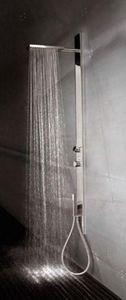 Hydromassage shower column