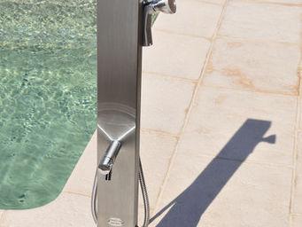 Douches de jardin - borne rince-pieds hauteur 1m00 - Outdoor Shower