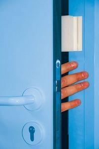 Anti-slam door stopper