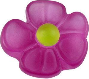 L'AGAPE - bouton de tiroir fleur pensee - Children's Furniture Knob