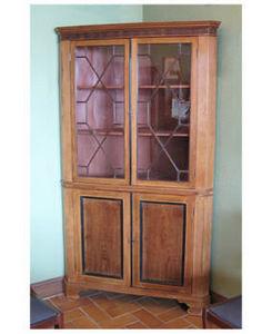 FABERT ET RAOULT -  - Corner Bookcase