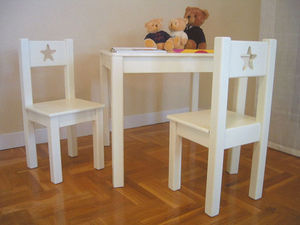 GRIS ALBA DECORACION - silla sena - Children's Chair