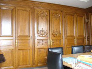 Louis Charles Hugon -  - Wooden Panelling