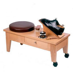 Shoe-shine bench