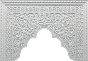 Staff Decor - b700 - Pediment