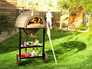 INVICTA - four a bois en fonte goustaou - Charcoal Barbecue