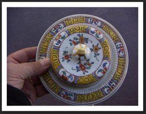 ACI Antiquités -  - Butter Dish