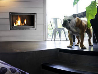 INVICTA - 900 grande vision relevable - Fireplace Insert