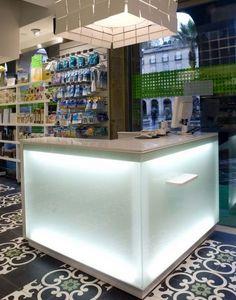 Atlantic Agencement -  - Shop Layout