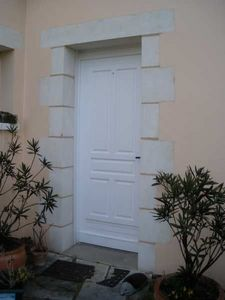 CHEMINEE CHARRIER -  - Door Frame