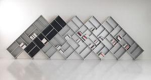 FITTING - mezza pyramid - Open Bookcase