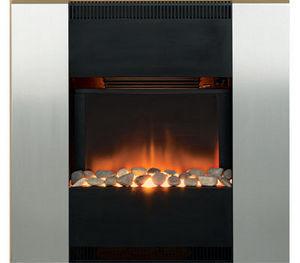 Burley - oakham - Enclosed Electric Fireplace
