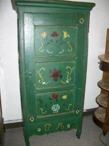 Antiquités Anne & Thierry - bonnetière - Bonnetiere Cupboard