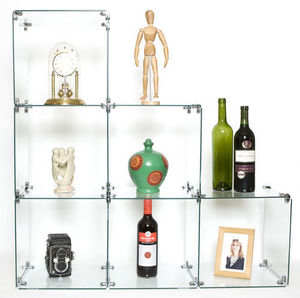 Eden Shop Equipment - glass display cube - Display Shelf