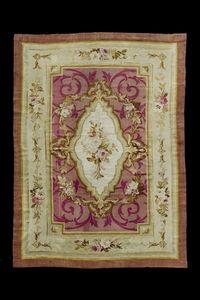 MARCO SALVATORI - aubusson, napoleon iii, cm 272 x 173 - Aubusson Carpet