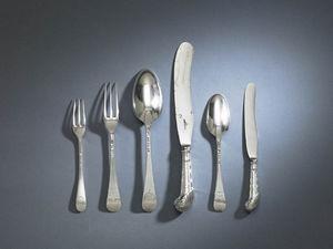 N & I FRANKLIN - george ii - Cutlery Service