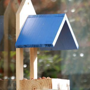 Wildlife world - window feeder blue - Bird Feeder