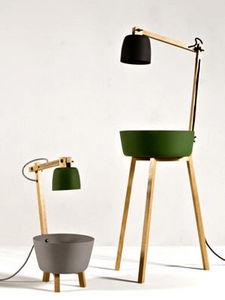 GALERIE GOSSEREZ -  - Floor Lamp
