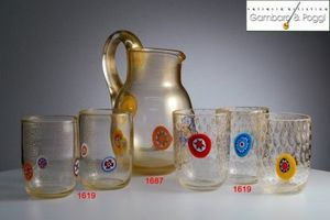 Gambaro & Poggi Murano Glass -  - Soft Drink Glass