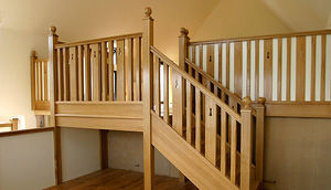 Touchwood - bradfield house - Straight Staircase