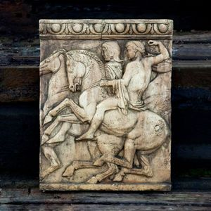 GARDEN ART PLUS - wall plaque - Bas Relief