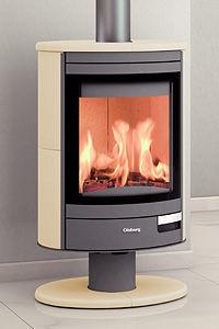 CHEMINEE CHARRIER - olsberg modèle escala 6 kw - Wood Burning Stove