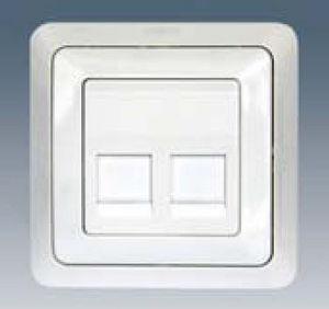 SIMON - double - Multimedia Socket