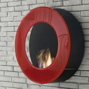 ITALY DREAM DESIGN - circle - Flueless Burner Fireplace
