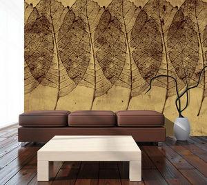 IN CREATION - feuilles 3 - Panoramic Wallpaper