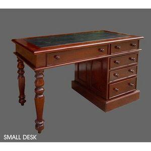 DECO PRIVE - bureau colonial en acajou modele small desk - Desk