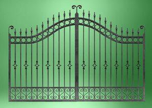 DECO FER FORGE - porta025 - Entrance Gate
