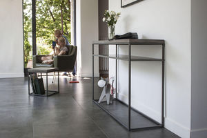 LYON BÉTON - perspective console with shelf - Console With Shelf