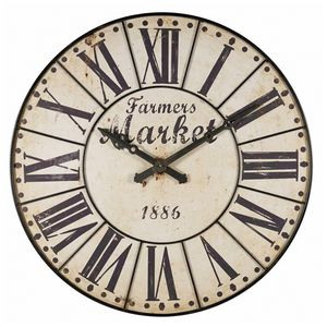 MAISONS DU MONDE - farmers market - Wall Clock
