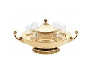 ERCUIS RAYNAUD - --empire- - Caviar Dish