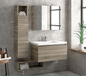 ITAL BAINS DESIGN - space 80 melamine - Bathroom Furniture