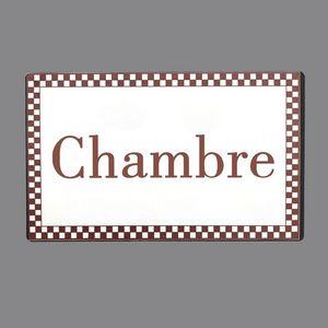 CHEMIN DE CAMPAGNE -  - Door Plaque