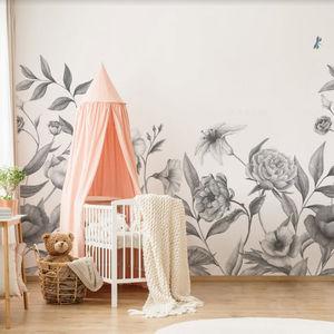 ISIDORE LEROY - chloris gris - Wallpaper