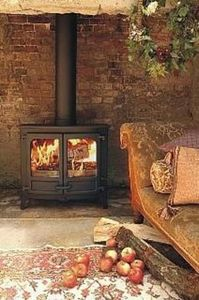 Charnwood - island iii - Wood Burning Stove