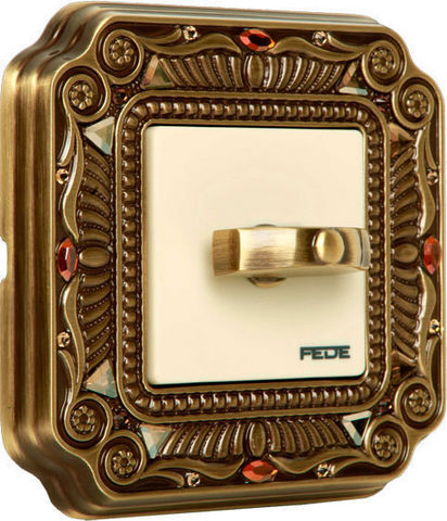 FEDE - Rotating switch-FEDE-PALACE CRYSTAL DE LUXE FIRENZE COLLECTION