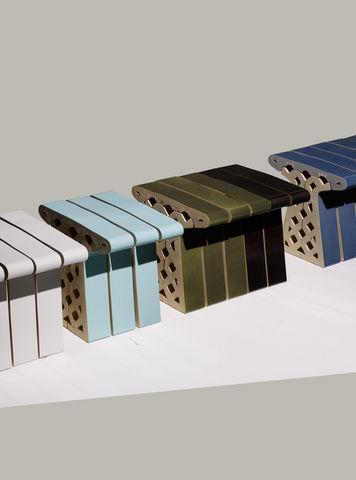 LABEL/BREED - Garden seat cushion-LABEL/BREED-Ceramic Brick Bench