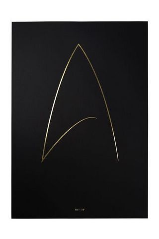 THE THIN GOLD LINE - Art print-THE THIN GOLD LINE-The Final Frontier