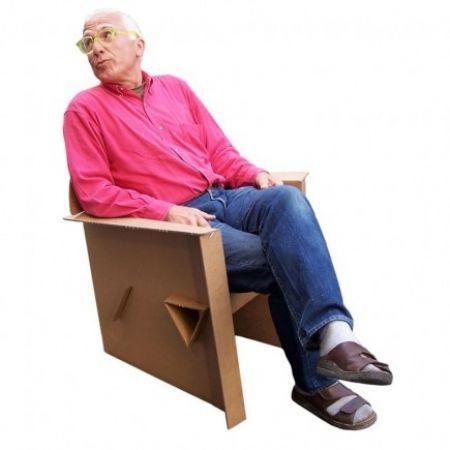 Quart De Poil' - Armchair-Quart De Poil'