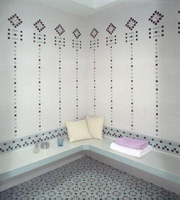 Emaux de Briare - Wall tile-Emaux de Briare-Hammam Harmonies