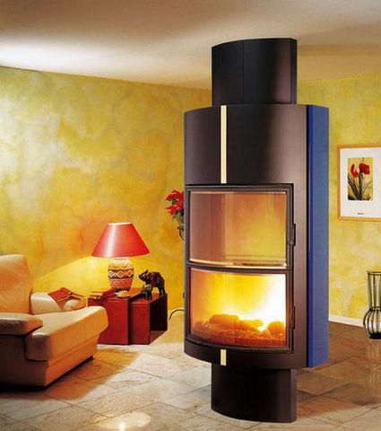 Cuisines et Cheminees Philippe - Closed fireplace-Cuisines et Cheminees Philippe-Sainte Luce