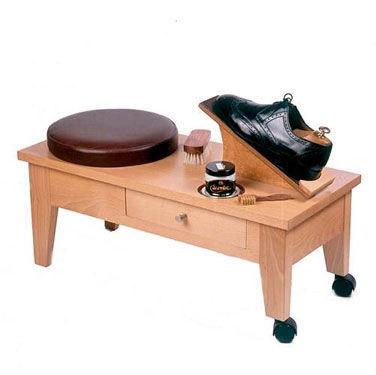 VALMOUR - Shoe-shine bench-VALMOUR-Banc de Cireur